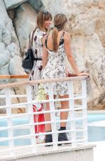 JENNIFER FLANVIN and SCARLET ROSE STALLONE at Eden Roc Hotel at Cannes Film Festival 05/24/2019
