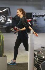JENNIFER GARNER Heading to a Gym in Los Angeles 06/27/2019