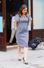 JENNIFER GARNER Leaves Her Hotel in New York 06/18/2019