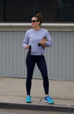 JENNIFER GARNER Out for Morning Coffee in Brentwood 06/15/2019