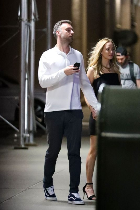 JENNIFER LAWRENCE and Cooke Maroney Night Out in New York 06/09/2019