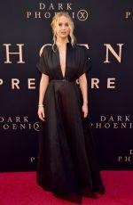 JENNIFER LAWRENCE at Dark Phoenix Premiere in Hollywood 06/04/2019