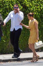 JENNIFER LOPEZ Arrives at Her Children