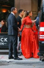 JENNIFER LOPEZ Heading to CFDA Fashion Awards in New York 06/03/2019