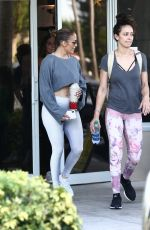 JENNIFER LOPEZ Leaves UFC Gym in Miami 05/31/2019