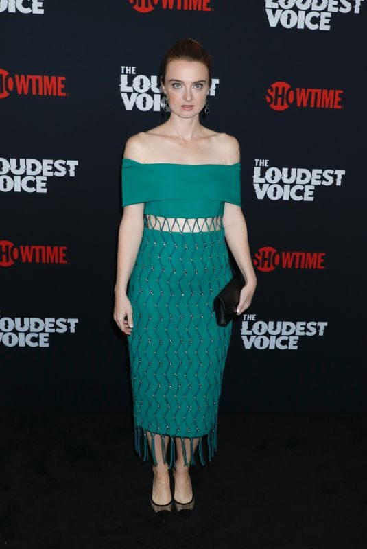 JENNIFER STAHL at The Loudest Voice Premiere in New York 06/24/2019