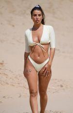 JENNY THOMPSON in Bikini at a Beach in Spain 06/12/2019
