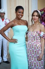 JESSICA ALBA and GANRIELLE UNION at Cocktail Party at Palace of Monaco 06/16/2019