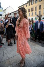 JESSICA ALBA Arrives at Douglas the Perfumery in Milan 06/20/2019