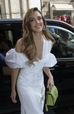 JESSICA ALBA Out and About in Rome 06/22/2019