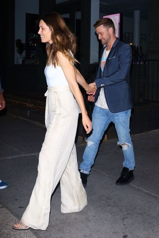 JESSICA BIEL and Justin Timberlake at Songwriters Hall of Fame Dinner in New York 06/12/2019