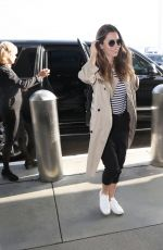 JESSICA BIEL at Los Angeles International Airport 06/12/2019