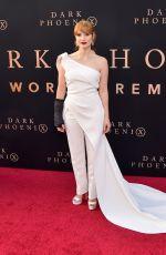 JESSICA CHASTAIN at Dark Phoenix Premiere in Hollywood 06/04/2019
