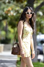 JESSICA GOMES Leaves Lauren Mackellar Salon in Los Angeles 06/10/2019