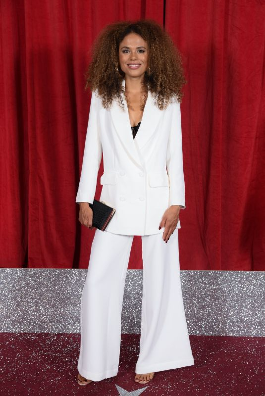 JESSICA PLUMMER at British Soap Awards 2019 in Manchester 06/01/2019