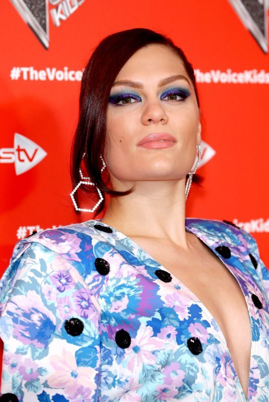 JESSIE J at Voice Kids Photocall in London 06/05/2019