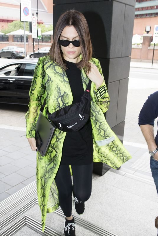JESSIE J Out and About in London 06/18/2019