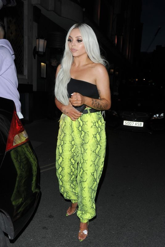 JESY NELSON Leaves Ivy Restaurant in Covent Garden 06/14/2019