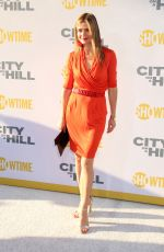 JILL HENNESSY at City on a Hill Premiere in New York 06/04/2019