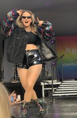 JOANNA JOJO LEVESQUE Performs at Hampton Roads Pride in Norfolk 06/22/2019