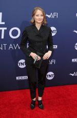 JODIE FOSTER at 2019 Afi Life Achievement Award Gala Honoring Denzel Washington in Hollywood 06/06/2019