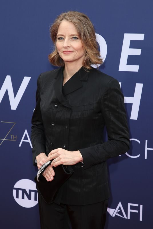 JODIE FOSTER at 2019 Afi Life Achievement Award Gala Honoring Denzel Washington in Hollywood 06/06/2019