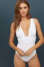 JOSEPHINE SKRIVER for H&M Swimwear, June 2019