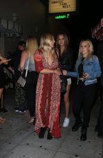 JOSPEHINE SKRIVER at Delilah in West Hollywood 06/16/2019