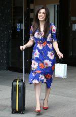 JULIA GOULDING Leaves ITV Studios in London 06/03/2019