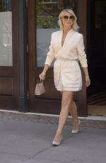 JULIANNE HOUGH Leaves Her Hotel in New York 06/23/2019