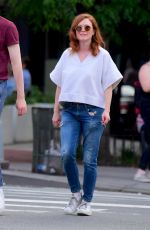 JULIANNE MOORE and Her Daughter LIV FREUNDLICH Out in New York 06/23/2019