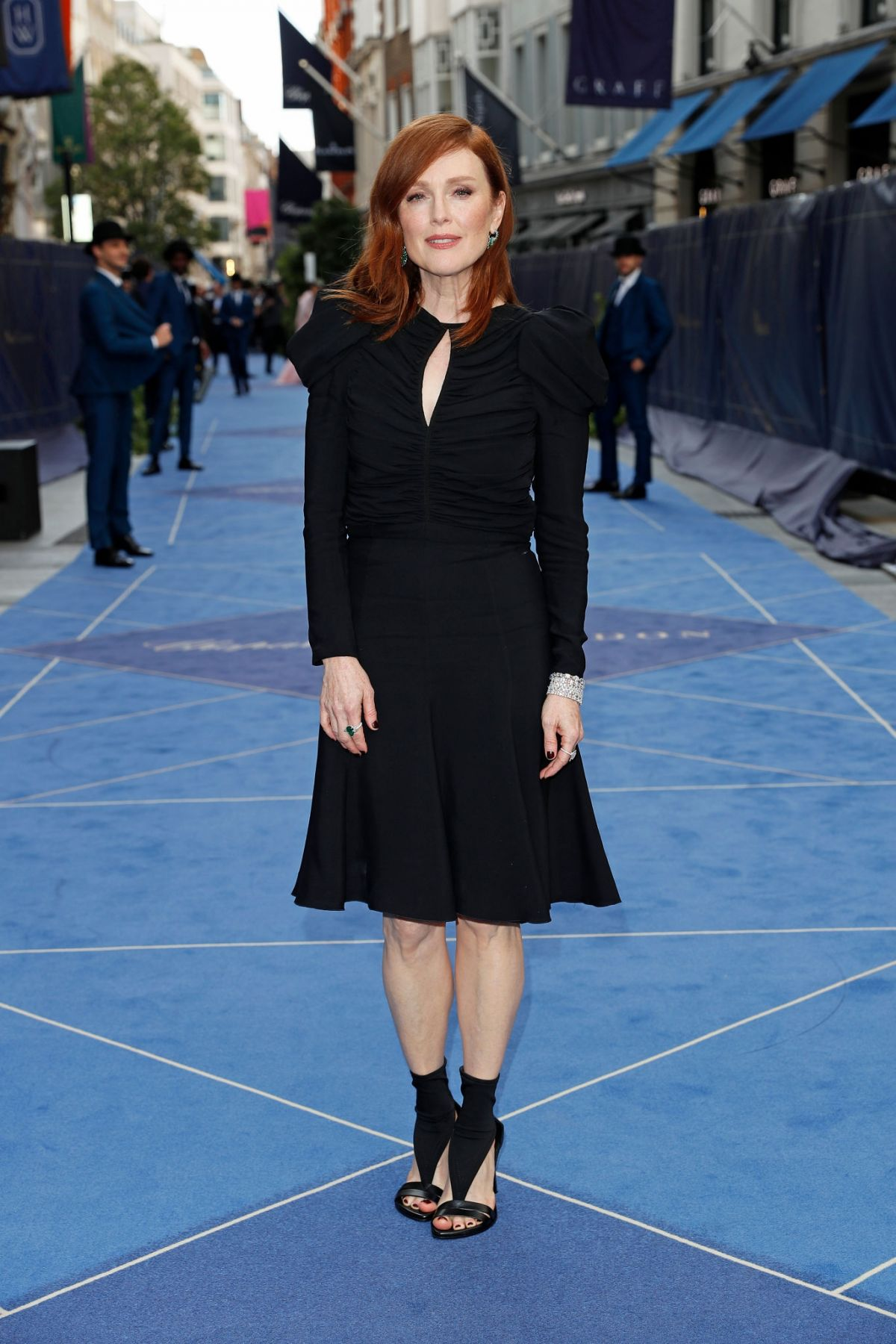 Julianne Moore At Chopard Bond Street Boutique Reopening