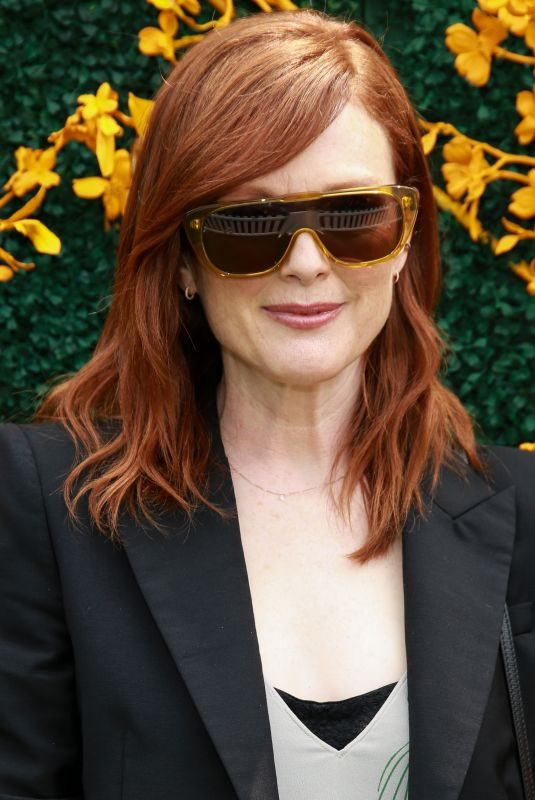 JULIANNE MOORE at Veuve Clicquot Polo Classic in Jersey City 06/01/2019