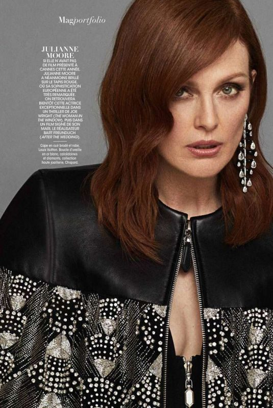 JULIANNE MOORE in Madame Figaro Magazine, June 2019