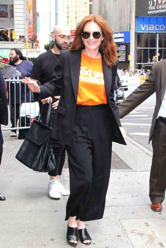 JULIANNE MOORE Out and About in New York 06/07/2019