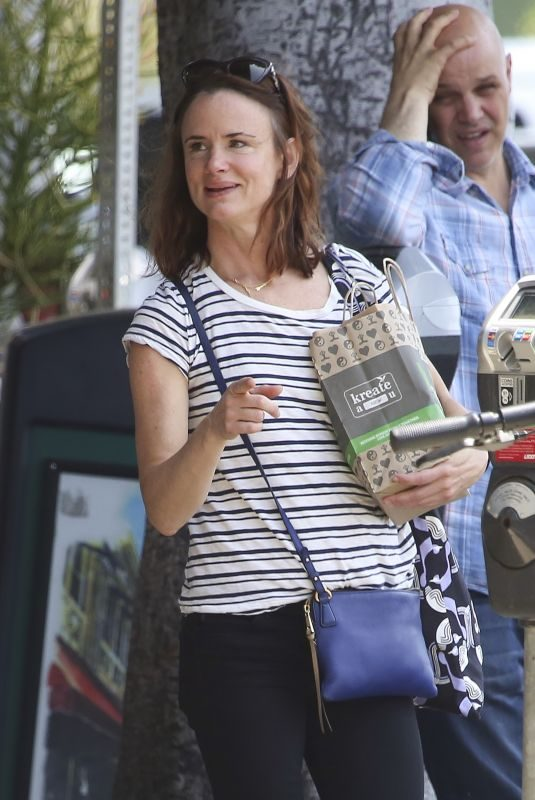 JULIETTE LEWIS Out Shopping in Los Angeles 06/07/2019