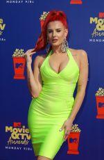 JUSTINA VALENTINE at 2019 MTV Movie & TV Awards in Los Angeles 06/15/2019
