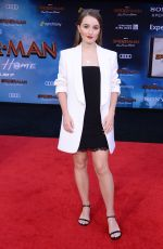 KAITLYN DEVER at Spider-Man: Far From Home Premiere in Hollywood 06/26/2019