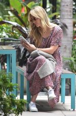 KALEY CUCOCO on Her Phone in Los Angeles 06/24/2019
