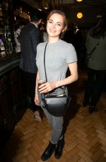 KARA TOINTON at The Starry Messenger Play Press Night in London 05/29/2019