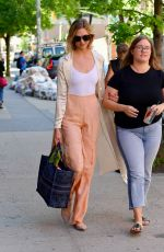 KARLIE KLOSS Out and About in New York 06/11/2019