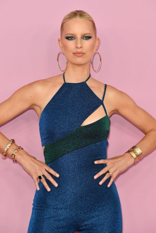 KAROLINA KURKOVA at CFDA Fashion Awards in New York 06/03/2019
