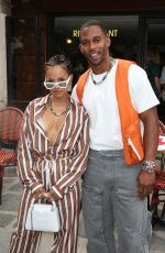 KARRUECHE TRAN and Victor Cruz at Louis Vuitton Menswear Spring/Summer 2020 Show in Paris 06/20/2019