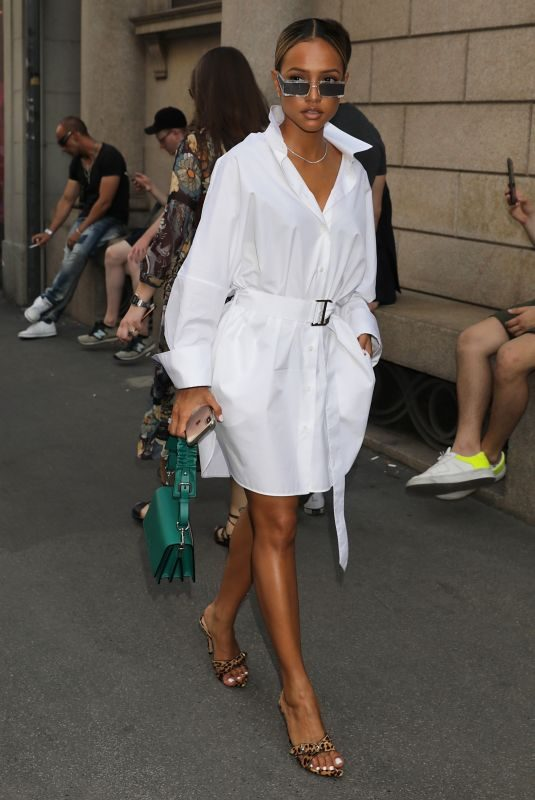 KARRUECHE TRAN Out and About in Milan 06/15/2019