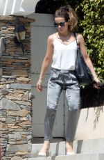 KATE BECKINSALE Leaves Her Home in Los Angeles 06/28/2019