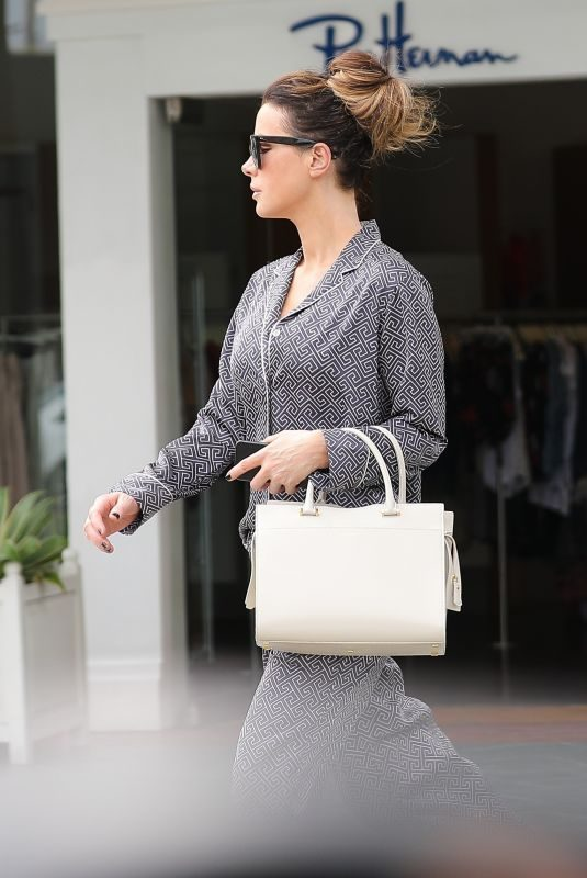 KATE BECKINSALE Out Shopping in Brentwood 06/01/2019