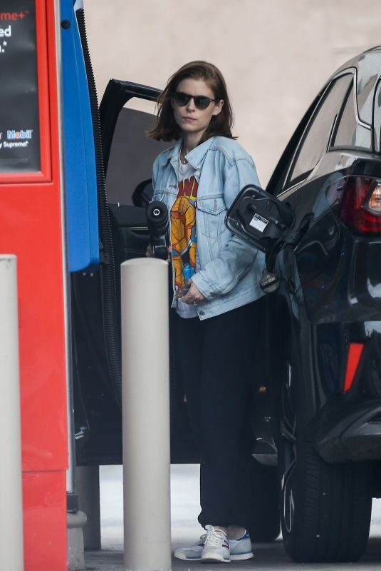 KATE MARA at a Gas Station in Beverly Hills 06/25/2019