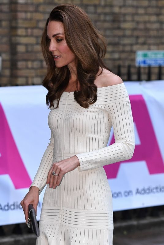 KATE MIDDLETON at First Annual Gala Dinner in Recognition of Addiction Awareness Week in London 06/12/2019