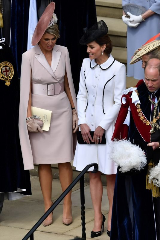 KATE MIDDLETON at Order of the Garter Service in Windsor 06/17/2019