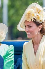 KATE MIDDLETON at Trooping the Colour Ceremony in London 06/08/2019